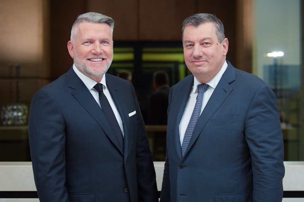 Thomas Olek und Frank Schneider - Vorstand der publity AG